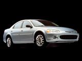 Pictures of Chrysler Sebring Sedan 2001–04