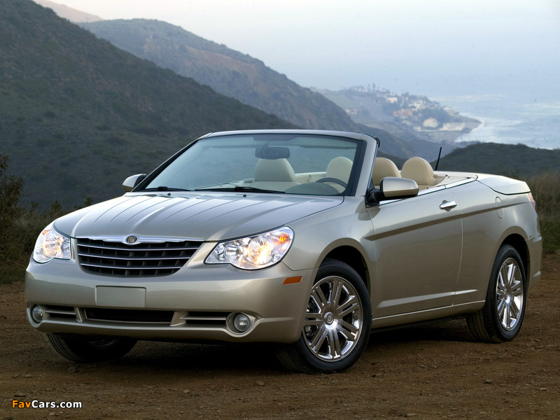 Pictures of Chrysler Sebring Convertible 2007–11 (800 x 600)