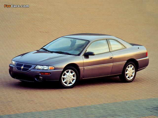 Chrysler Sebring Coupe (FJ) 1995–97 wallpapers (640 x 480)