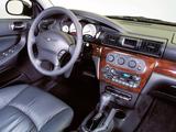 Chrysler Sebring Sedan 2001–04 wallpapers