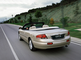 Chrysler Sebring Convertible 2001–04 wallpapers