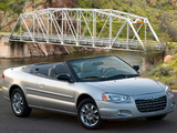 Chrysler Sebring Convertible (JR) 2003–06 wallpapers