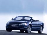 Chrysler Sebring Convertible EU-spec (JR) 2003–06 wallpapers