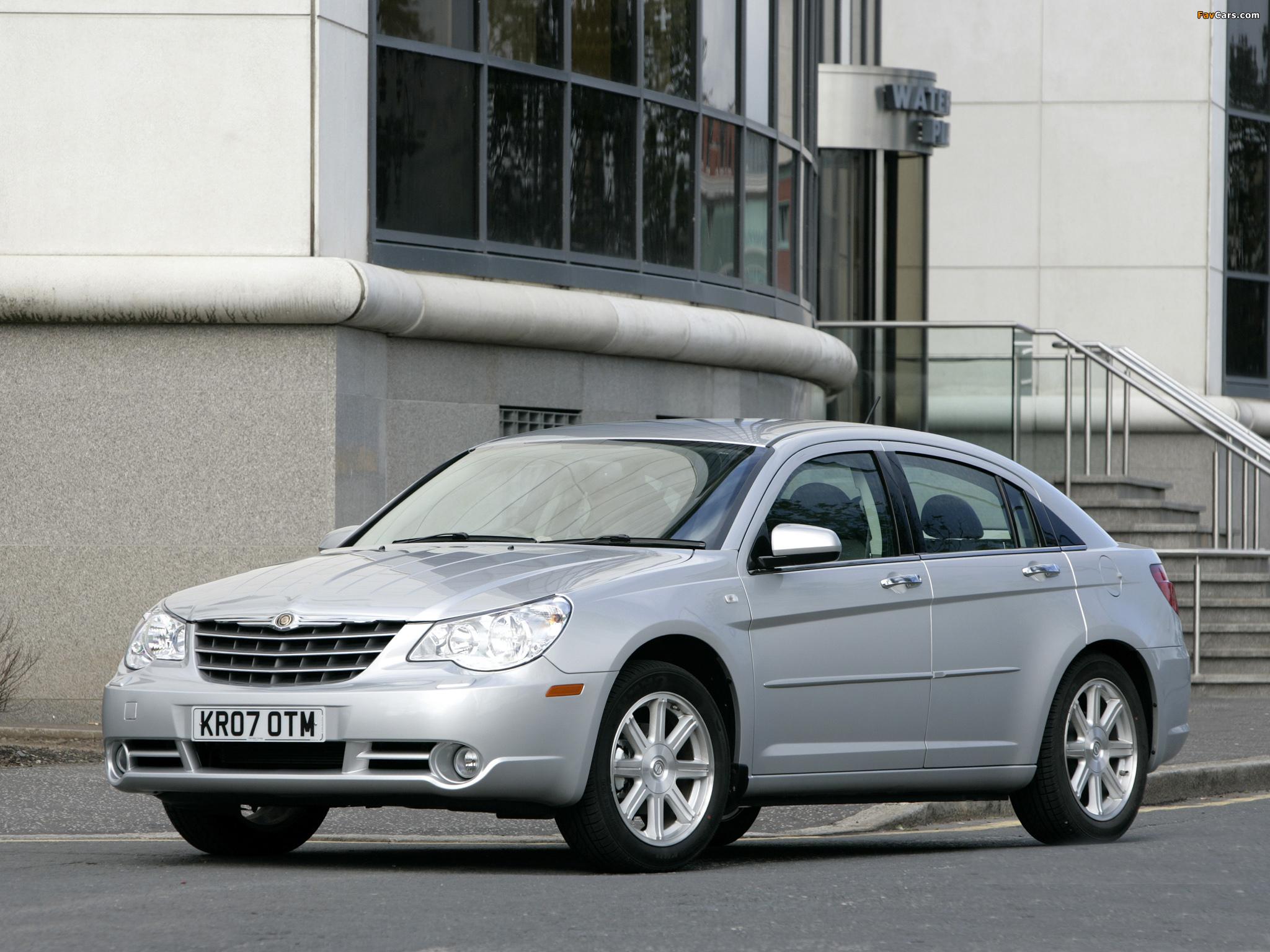 Chrysler Sebring Sedan UK-spec 2006–10 wallpapers (2048 x 1536)