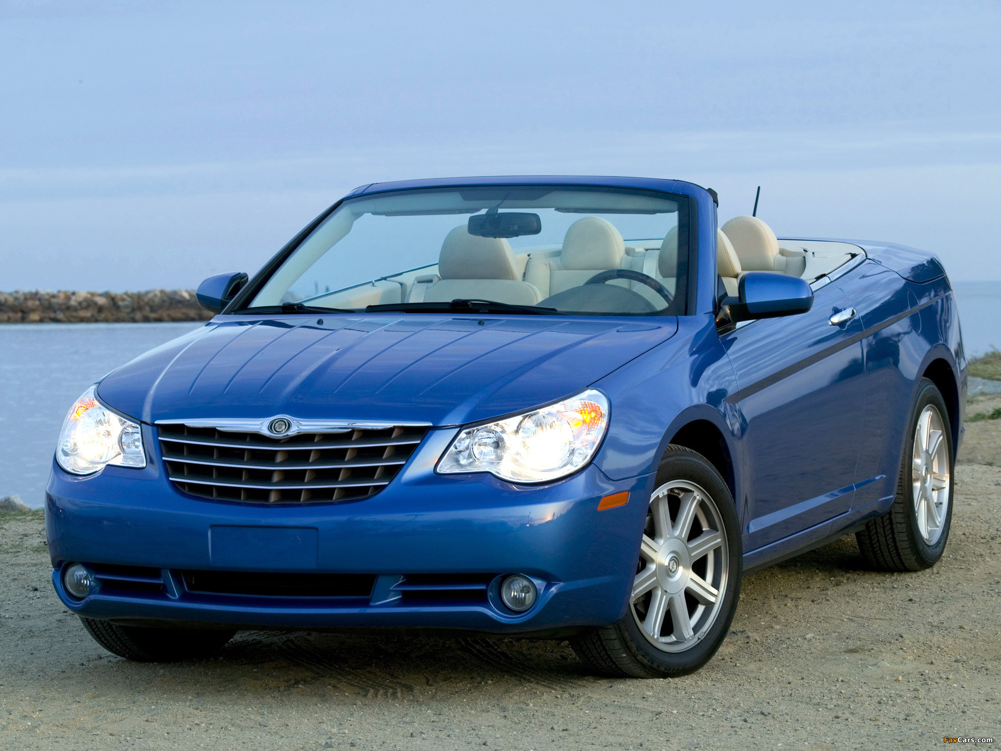 Chrysler Sebring Convertible 2007–11 wallpapers (2048 x 1536)
