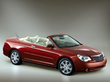 Chrysler Sebring Convertible 2007–11 wallpapers