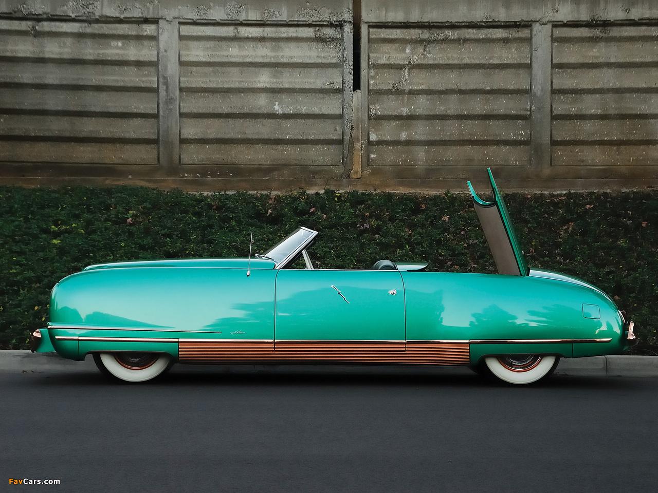 Chrysler Thunderbolt Concept Car 1940 wallpapers (1280 x 960)