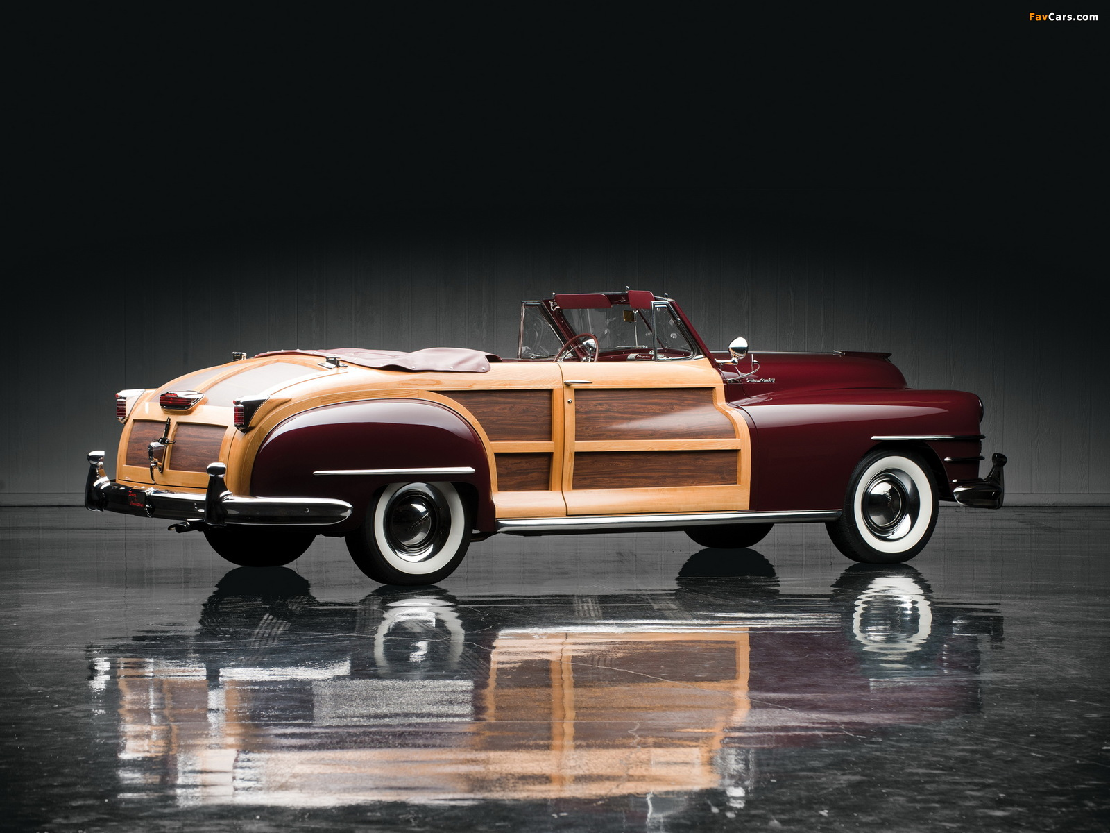 Chrysler Town & Country Convertible 1946 images (1600 x 1200)