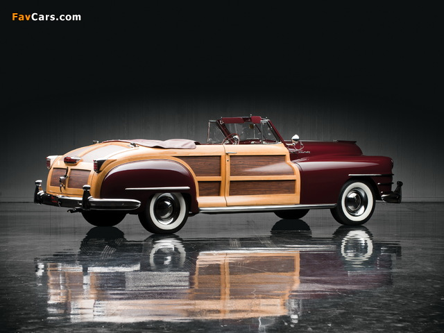 Chrysler Town & Country Convertible 1946 images (640 x 480)