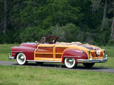 Chrysler Town & Country Convertible 1946 wallpapers