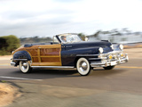 Chrysler Town & Country Convertible 1947 photos