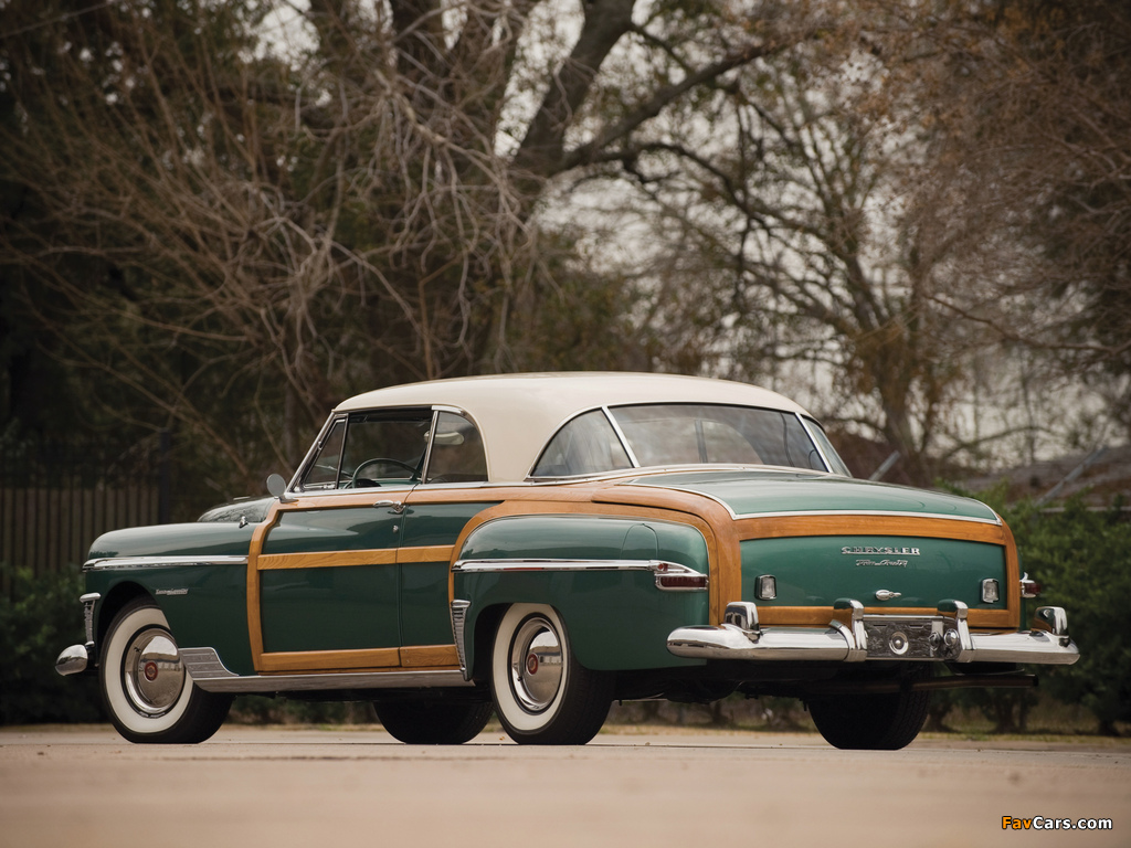 Chrysler Town & Country Newport Coupe 1950 photos (1024 x 768)