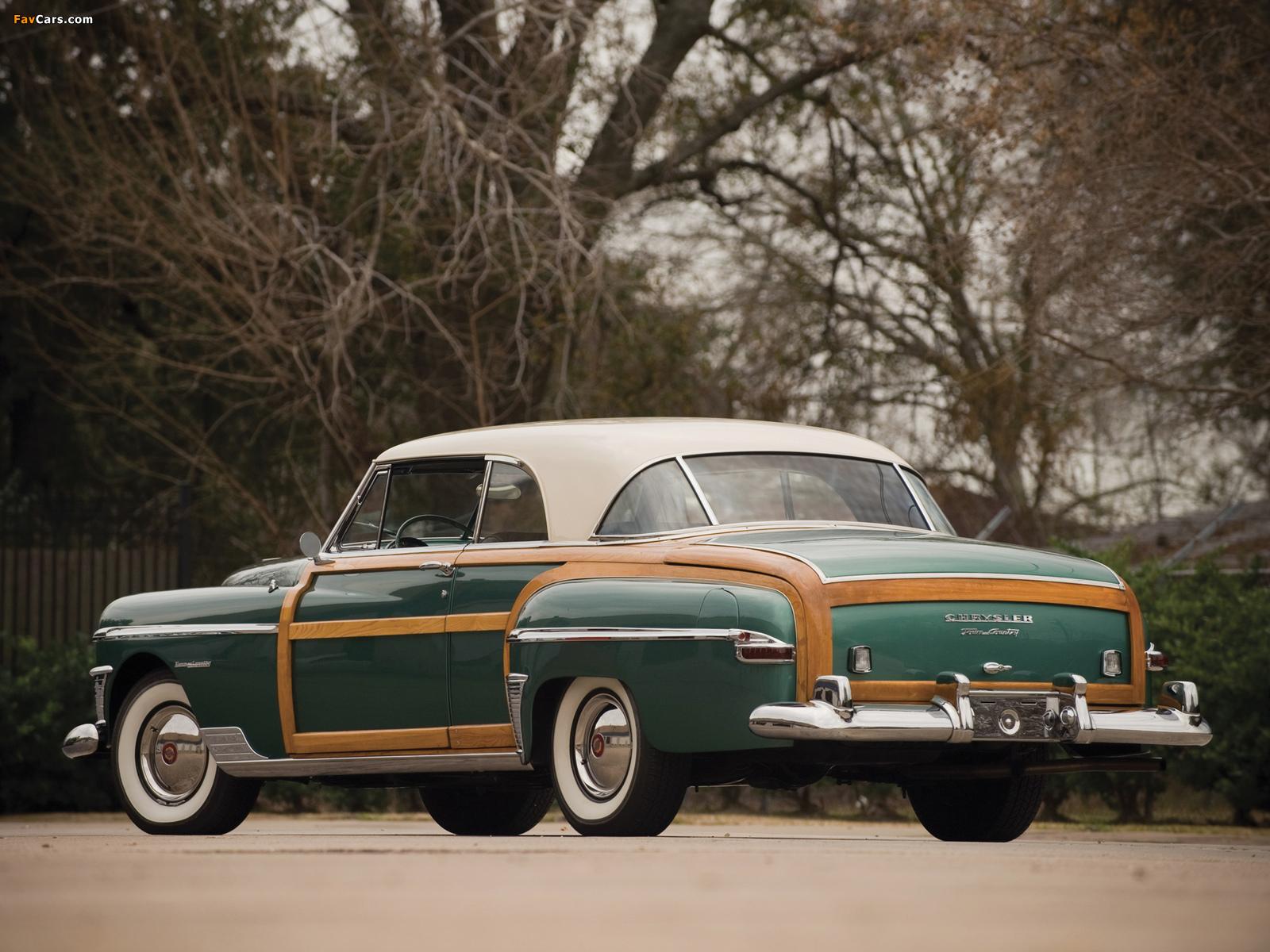 Chrysler Town & Country Newport Coupe 1950 photos (1600 x 1200)