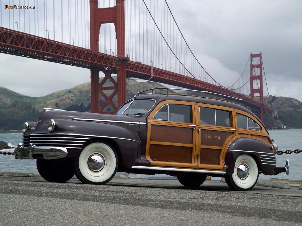 Chrysler Town & Country 1942 photos (1024 x 768)