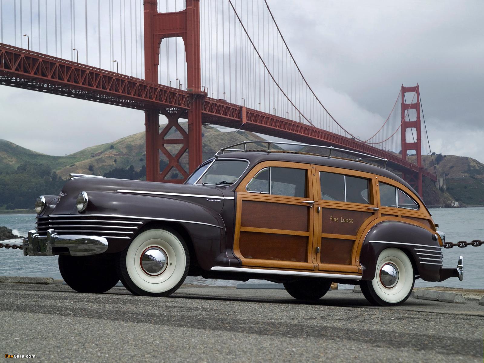 Chrysler Town & Country 1942 photos (1600 x 1200)
