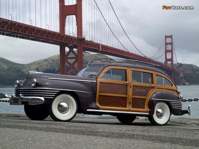 Chrysler Town & Country 1942 photos (640 x 480)