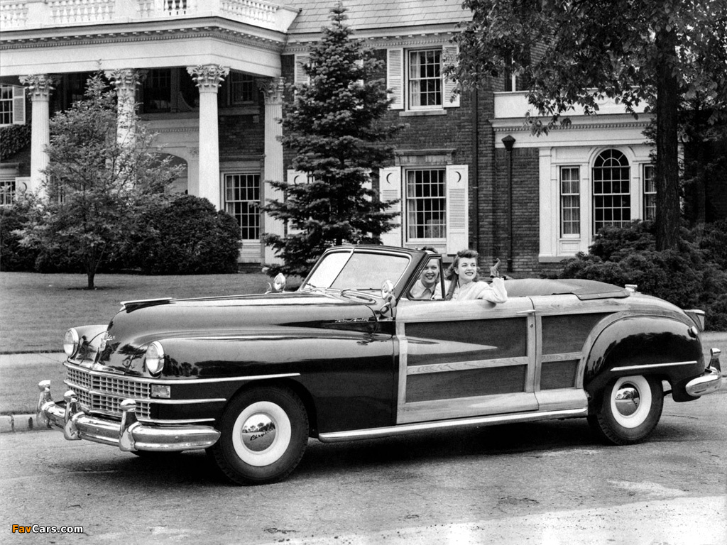 Chrysler Town & Country Convertible 1946 pictures (1024 x 768)