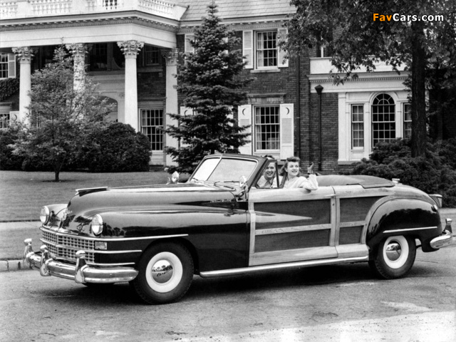 Chrysler Town & Country Convertible 1946 pictures (640 x 480)