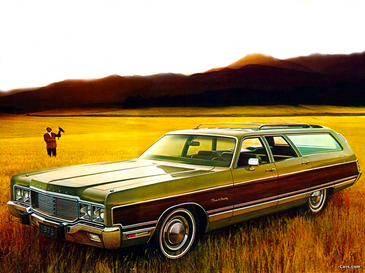 Town And Country Chrysler >> Chrysler Town & Country Station Wagon 1973 wallpapers (1280x960)