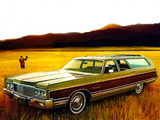 Chrysler Town & Country Station Wagon 1973 wallpapers