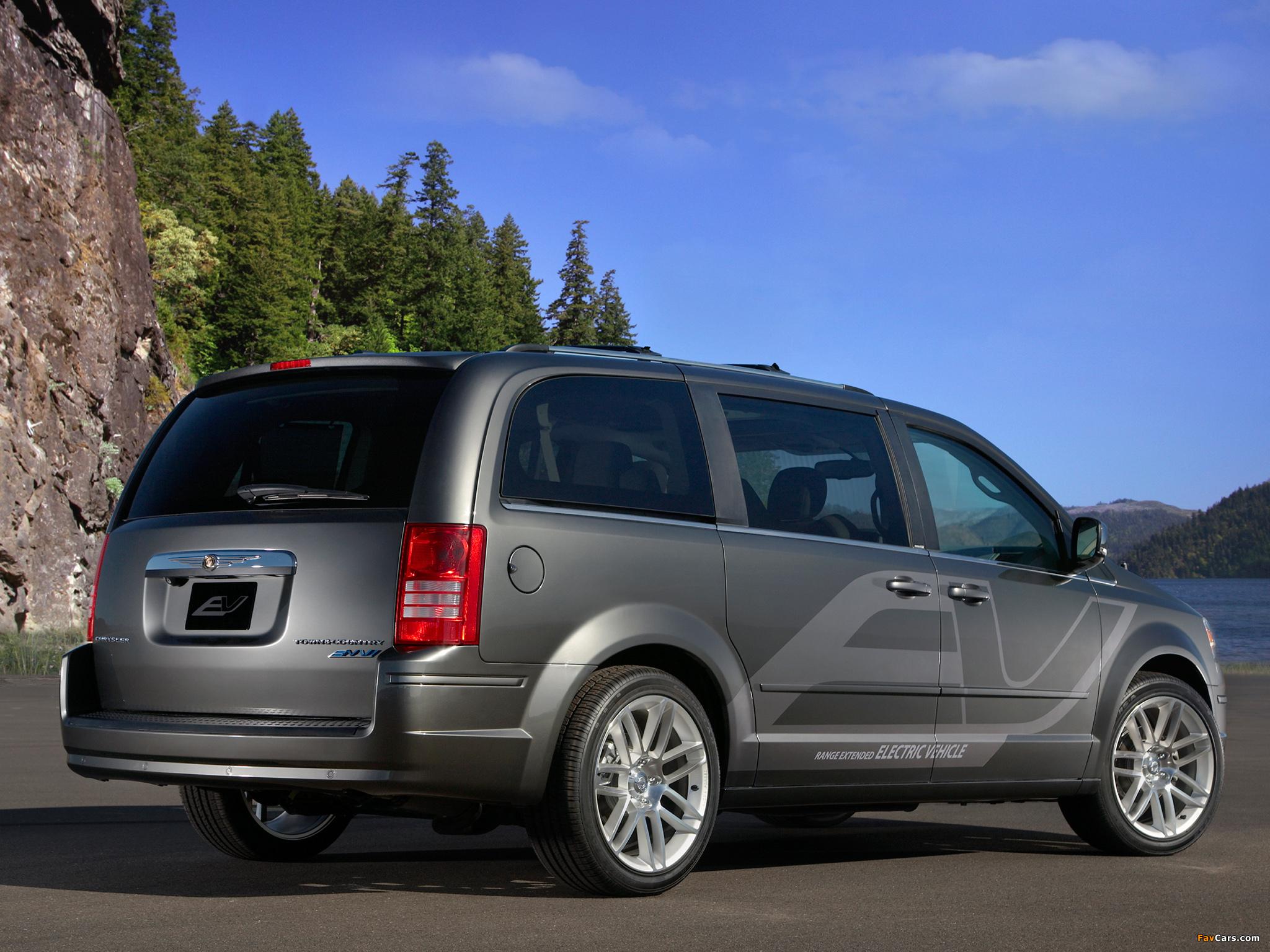 Chrysler Town & Country EV Concept 2009 photos (2048 x 1536)