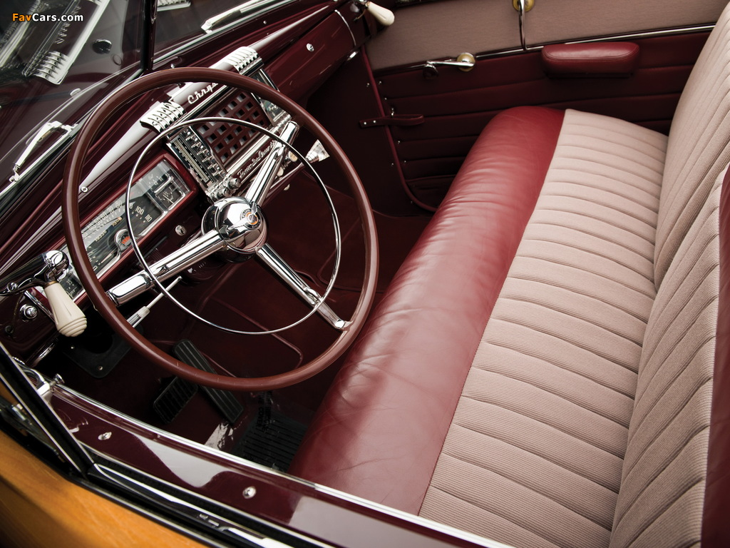 Images of Chrysler Town & Country Convertible 1946 (1024 x 768)