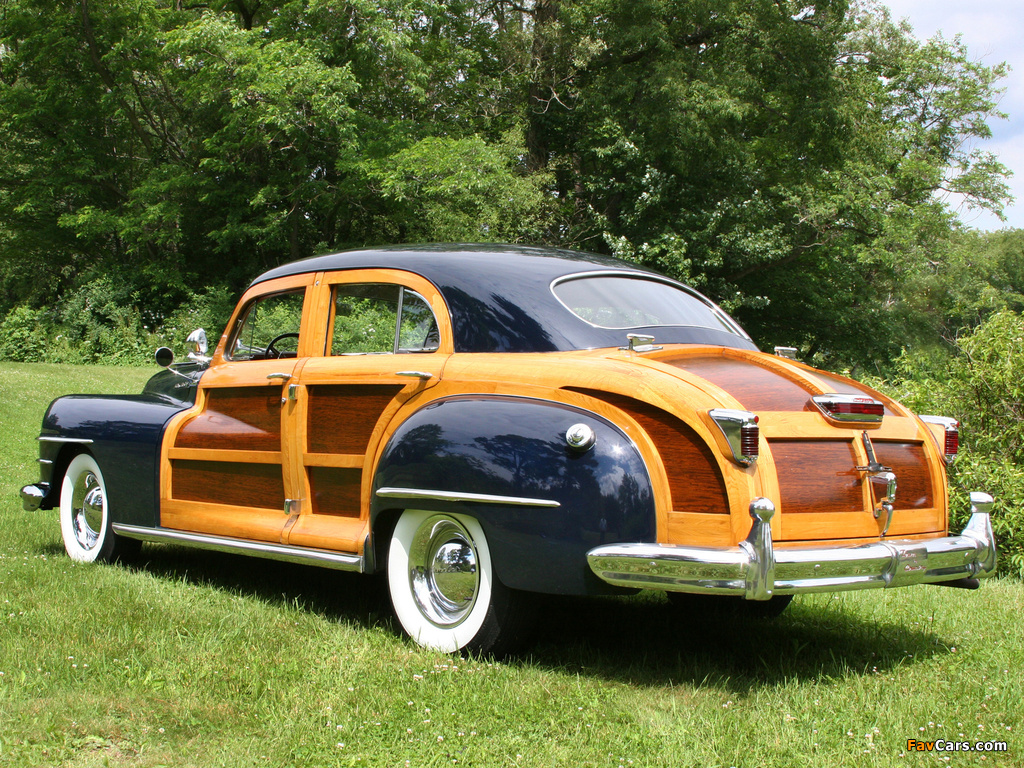 Images of Chrysler Town & Country 1948 (1024 x 768)