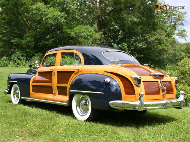 Images of Chrysler Town & Country 1948 (640 x 480)