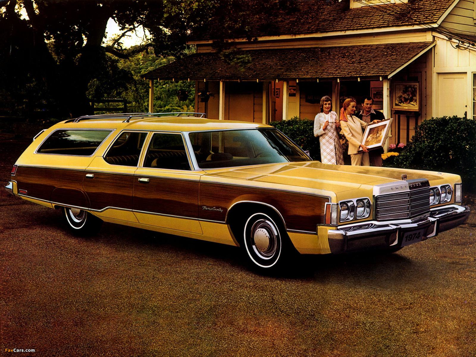 Town And Country Chrysler >> Images of Chrysler Town & Country Station Wagon 1974 (1600x1200)