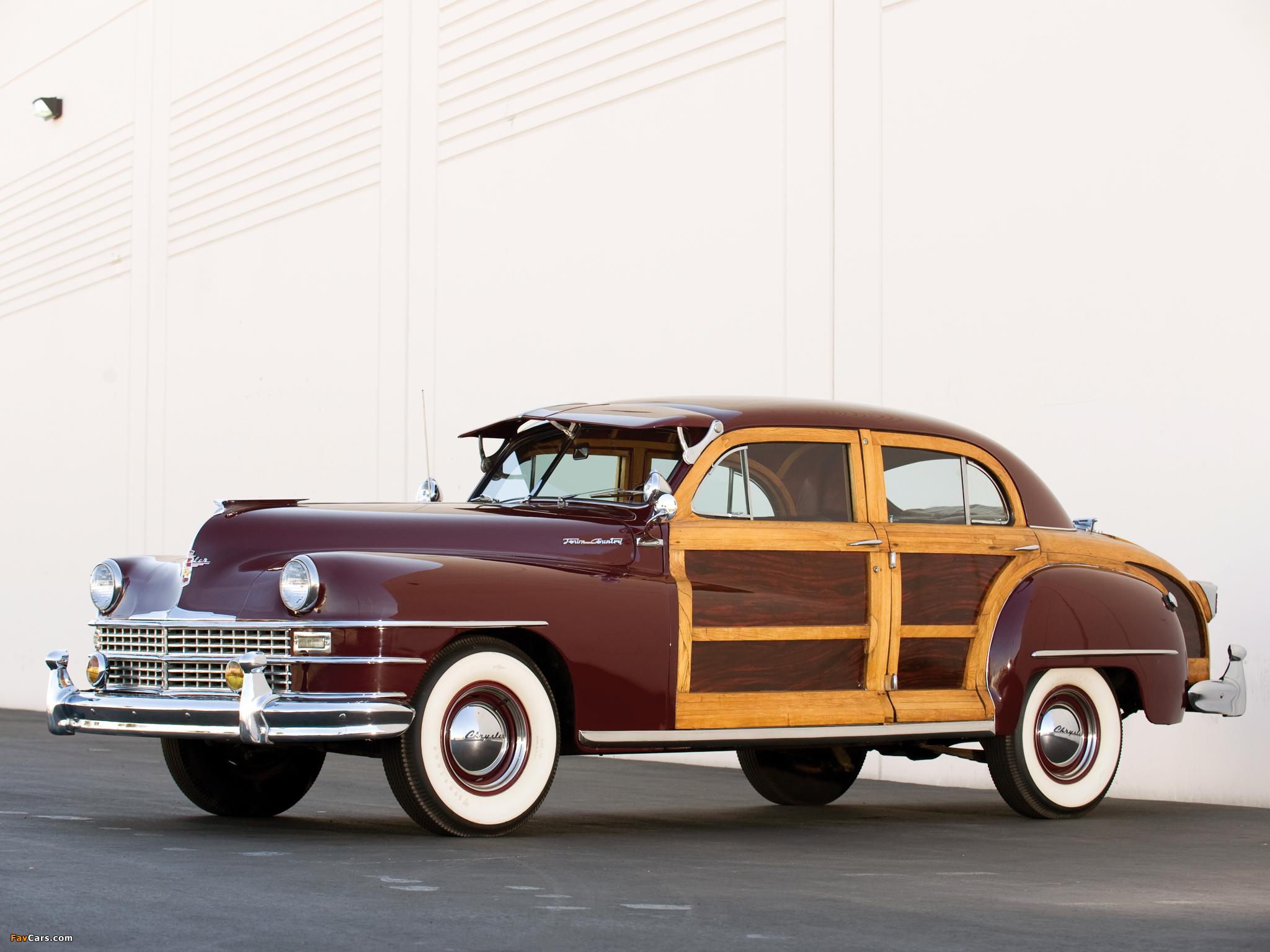 Photos of Chrysler Town & Country 1947 (2048 x 1536)