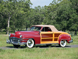 Pictures of Chrysler Town & Country Convertible 1946