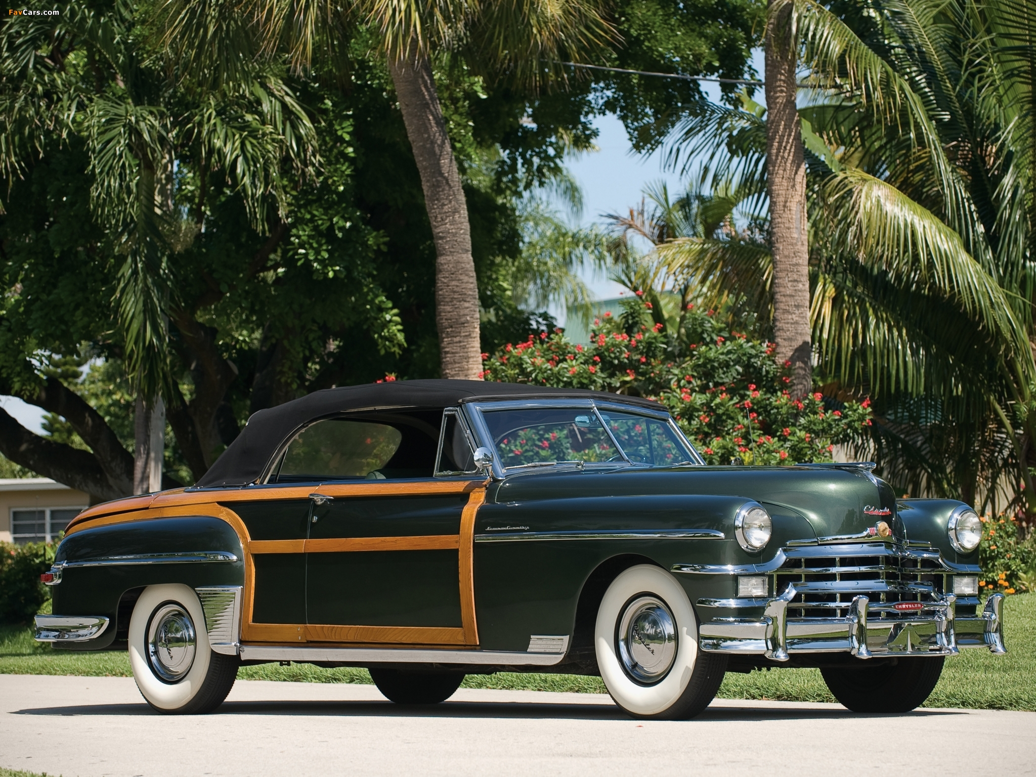 Pictures of Chrysler Town & Country Convertible 1949 (2048 x 1536)
