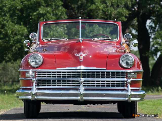 Chrysler Town & Country Convertible 1946 wallpapers (640 x 480)