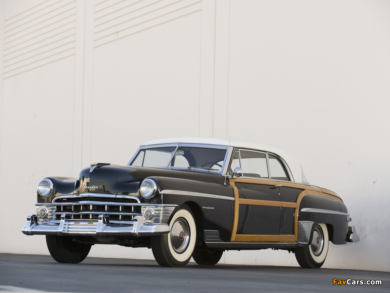 Chrysler Town & Country Newport Coupe 1950 wallpapers (800 x 600)