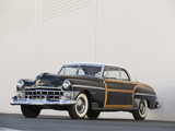 Chrysler Town & Country Newport Coupe 1950 wallpapers