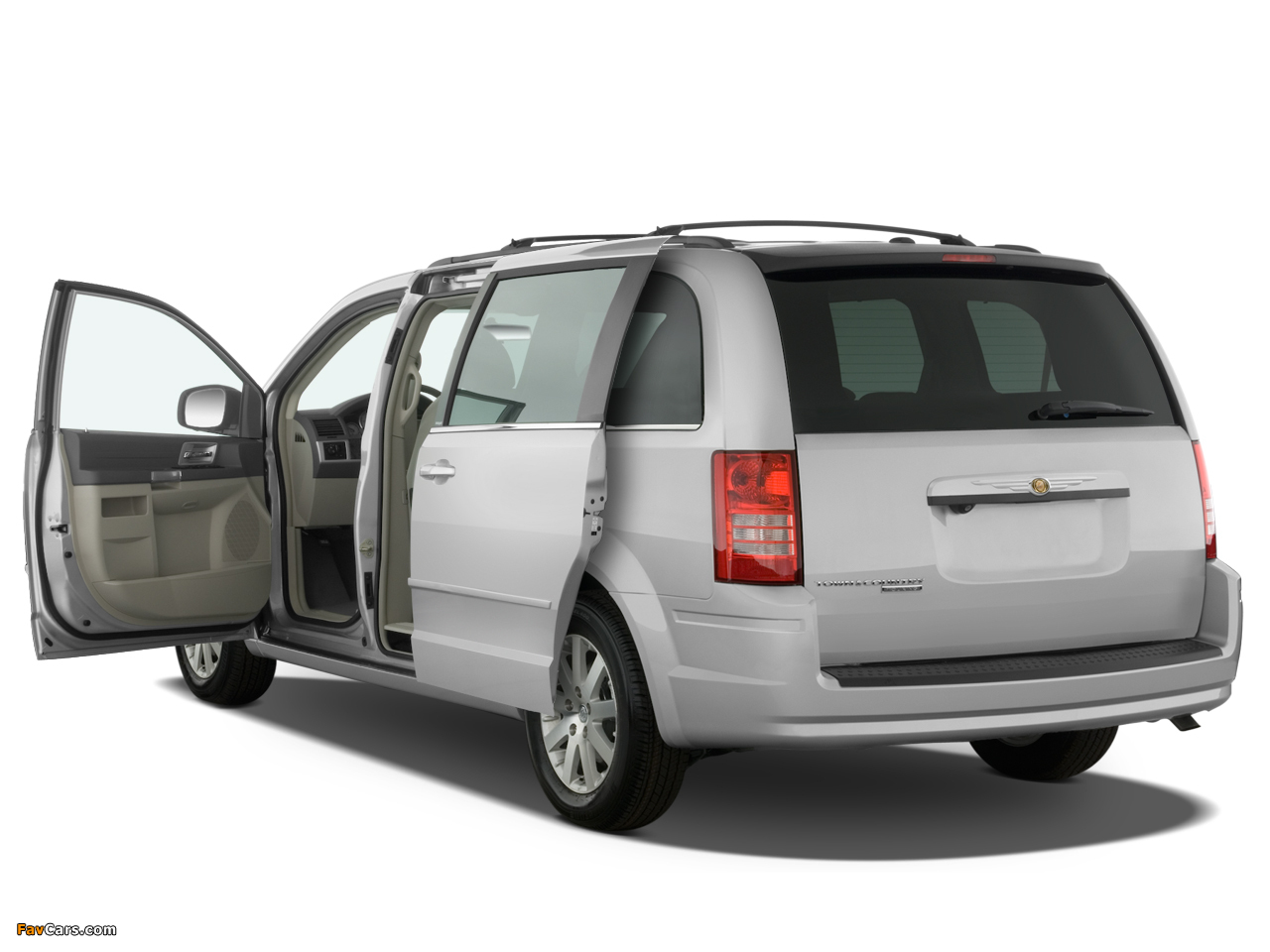 Chrysler Town & Country 2007–10 wallpapers (1280 x 960)