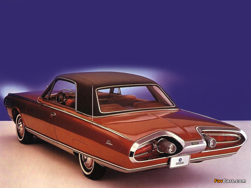 Chrysler Turbine Car 1963 wallpapers (800 x 600)