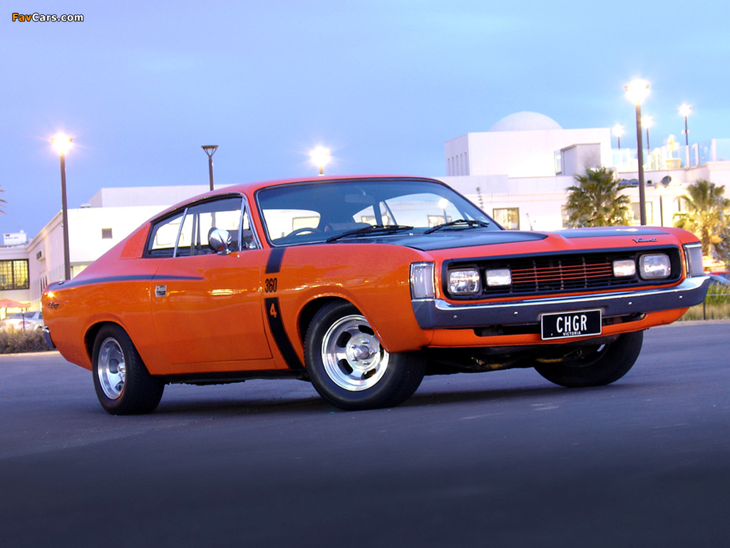 Chrysler Valiant Charger (VH) 1971–73 wallpapers (1024 x 768)