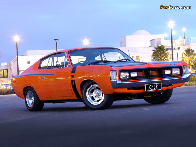 Chrysler Valiant Charger (VH) 1971–73 wallpapers (640 x 480)