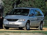 Chrysler Grand Voyager 2000–04 wallpapers