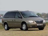 Chrysler Grand Voyager UK-spec 2004–07 pictures