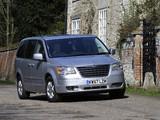 Photos of Chrysler Grand Voyager UK-spec 2008–10