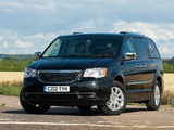 Photos of Chrysler Grand Voyager UK-spec 2011