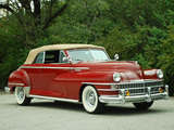 Chrysler Windsor Convertible (C-38W) 1946 wallpapers
