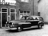 Images of Chrysler Windsor Funeral Car by Renova 1948