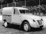 Citroën 2CV Fourgonnette AZU 1955–58 images