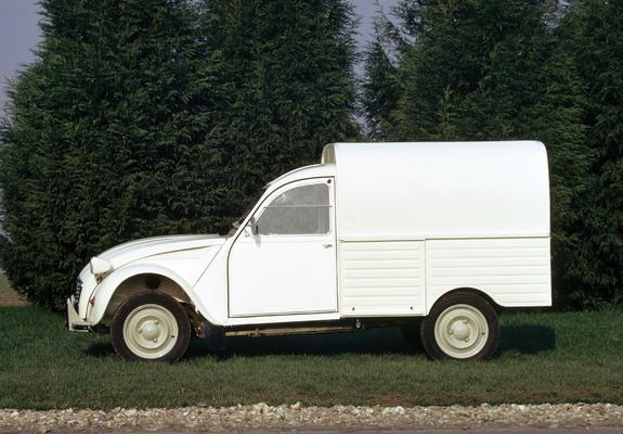 2cv fourgonnette 1975