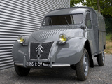 Citroën 2CV Fourgonnette AZU 1955–58 wallpapers