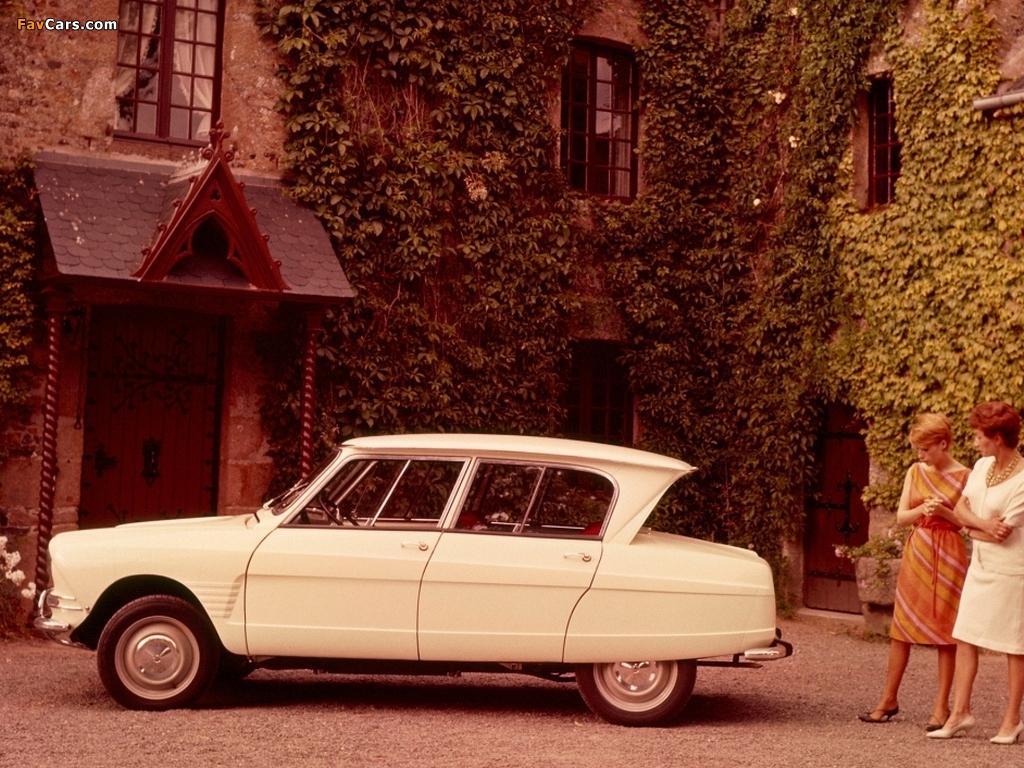 Citroën AMI6 1961–69 photos (1024 x 768)