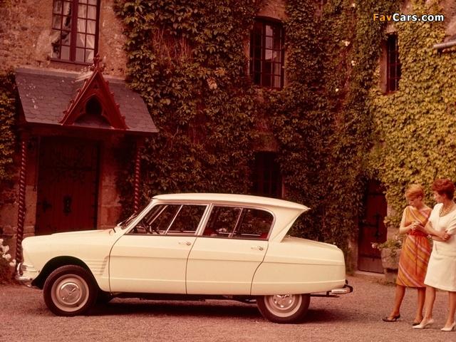 Citroën AMI6 1961–69 photos (640 x 480)